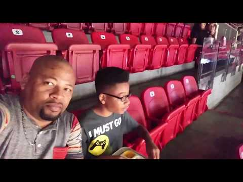 YARDIE BELLY TV's 1st Time At A MIAMI HEAT Basketball Game