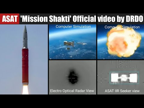 Official ASAT - Anti Satellite Missile Mission / Mission Shakti Video by DRDO