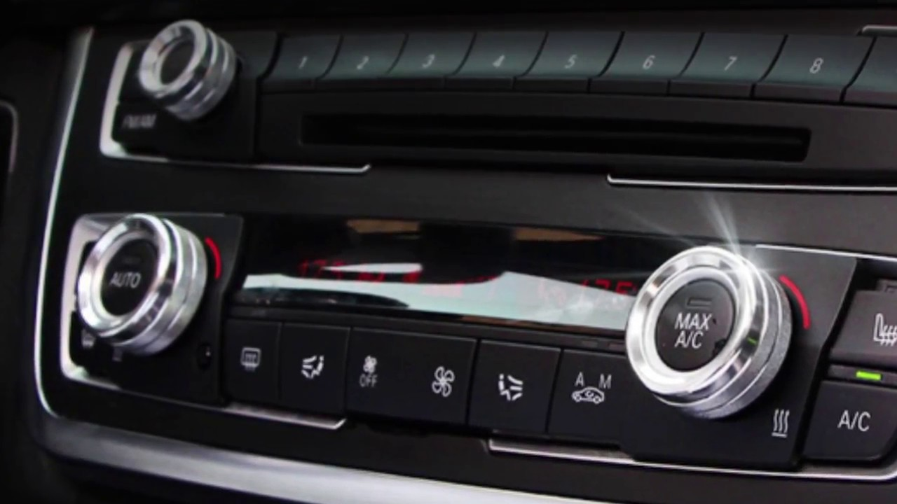 Red Aluminum AC Climate Control Radio Volume Knob Ring Covers For 17-up 5 Series