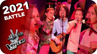 McFerrin - Don't worry be happy (Isabella/Katarina/Veronika&Moritz&Xaver) | The Voice Kids | Battles