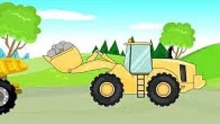 Excavator & Truck & Bulldozer | Construction Vehicle Story | Construction Vehicles
