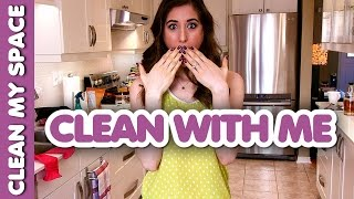 Kitchen Cleaning Routine! (Clean With Me)