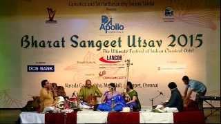 "Bharat Sangeet Utsav 2015 | ""Sivan 125"" - Multi facets of Papanasam Sivan | Dr. Nithyasree Mahadevan"