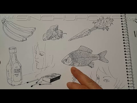 Aliexpress. Liner pen. Лайнер ручка. Ручка для рисования [4k video .