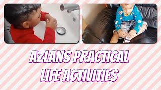Azlan's Daily Life Activities || Daily Routine Video