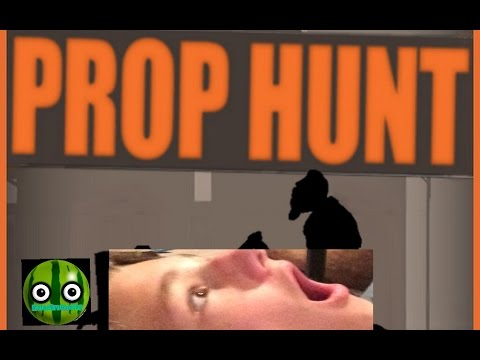 Prop Hunt mobile w/ Green Melon:I'm BATMAN!!!!!!!!