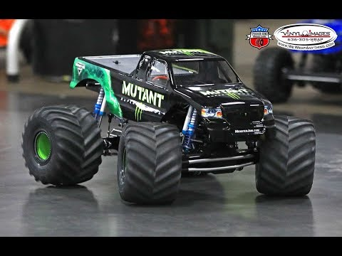 Pro Mod RC Monster Truck Racing - Vinyl Images Dec.2, 2018 - Trigger King Productions