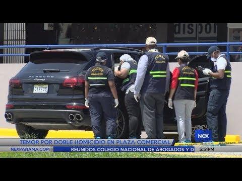 Temor por doble homicidio en Plaza Comercial