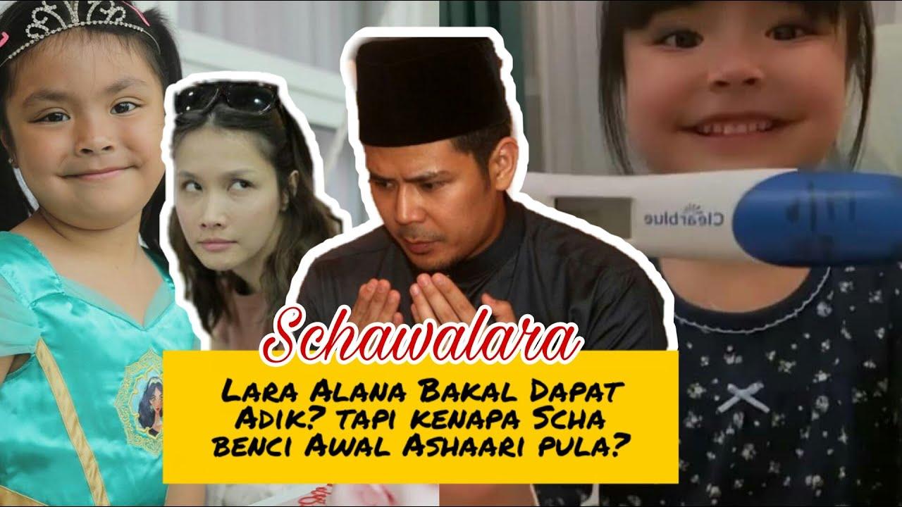 Lara Alana bakal dapat adik? Scha Alyahya mengandung tapi kenapa Scha benci Awal Ashaari?