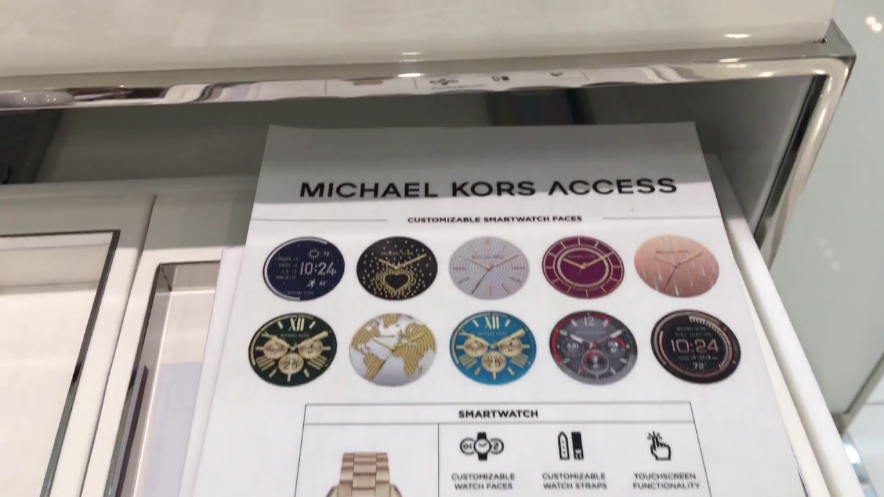 michael kors smartwatch review test unboxing michael kors. Black Bedroom Furniture Sets. Home Design Ideas