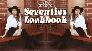 Seventies Inspired Lookbook | 70s Fashion Trends