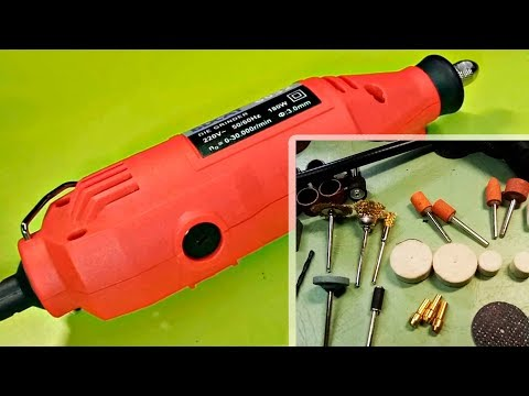 BDCAT 6032 Mini electric drill 180W Drill Grinder with flexible shaft - Unboxing & disassembly