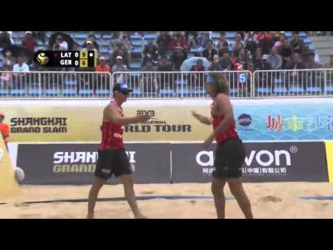 Top 5 Plays FIVB Shanghai 2014 | Beach Volleyball Videos