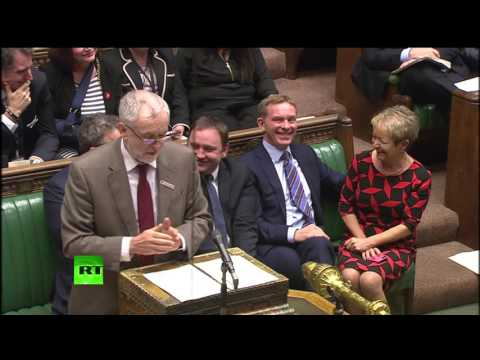 Corbyn reads email from Rosie NOT his chief whip