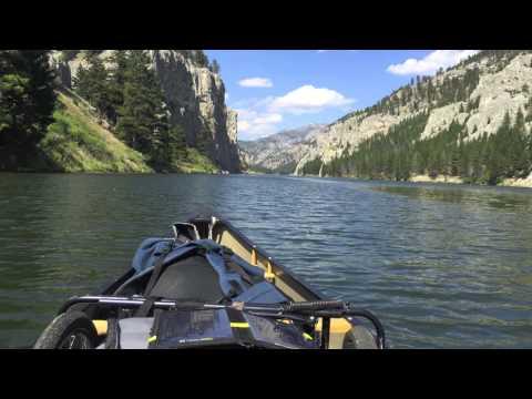 Missouri River Solo Canoe Trip