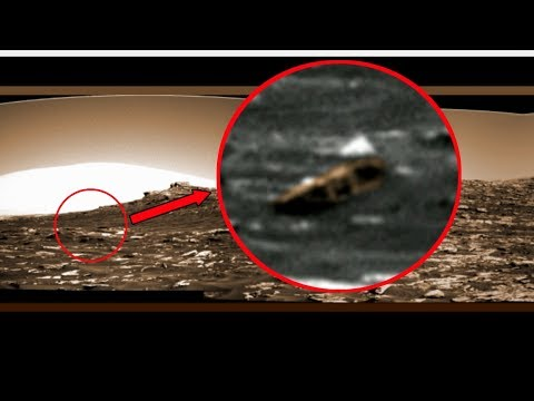 There Was Life On Mars - Buried Structure Found On Curiosity Rover Photo.