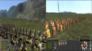 XIII Century Death or Glory vs Medieval 2 Total War graphic comparison