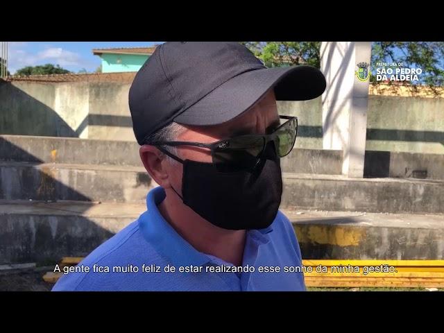 PREFEITURA INFORMA #11 | Obras das quadras poliesportivas cobertas
