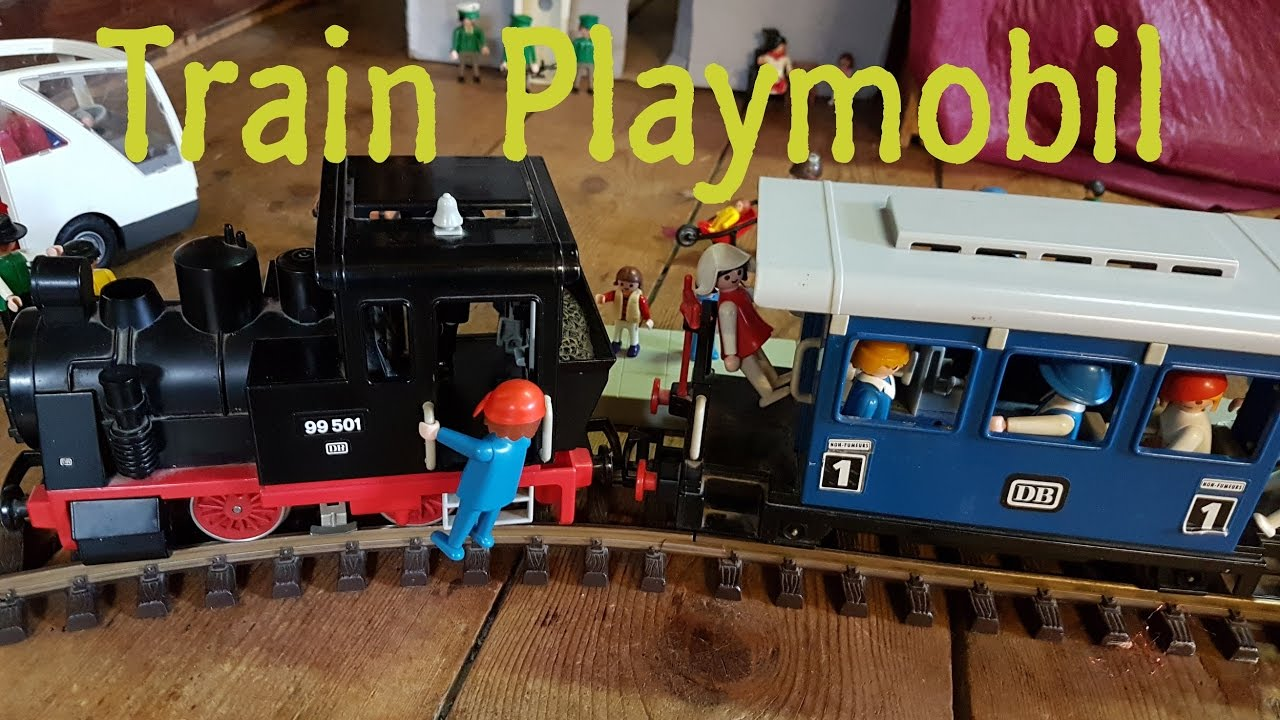 Train playmobil gare et voyage youtube - Train playmobil ...
