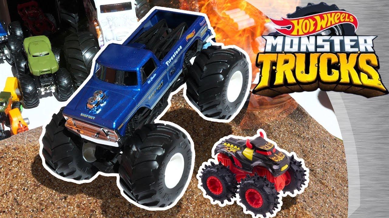 Hot Wheels Monster Trucks 2019 Youtube