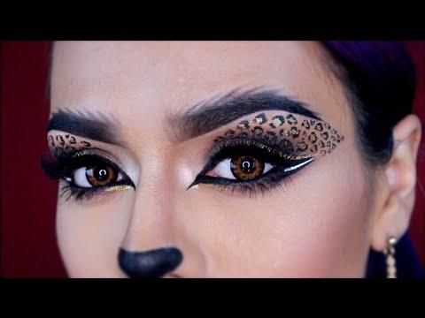 Eyes For Halloween Cat Makeup
