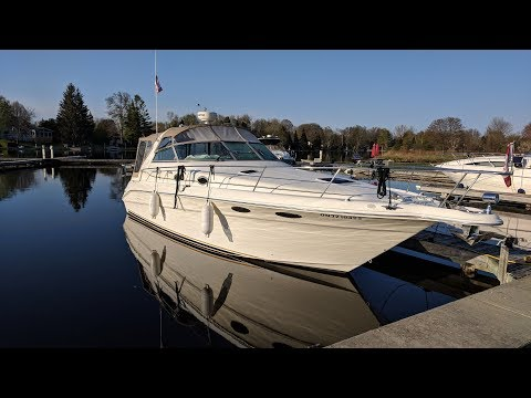New Boat Equipment - Sea Ray Sundancer