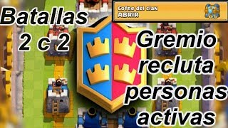 Clash Royale 2v2 battles. Clan gets once more chest level 10 Clash royale. It recruits.