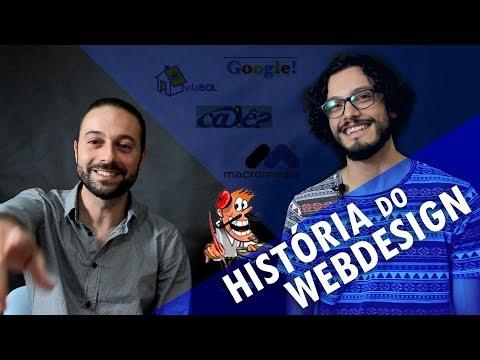Web Design: história, perrengues e evolução da profissão