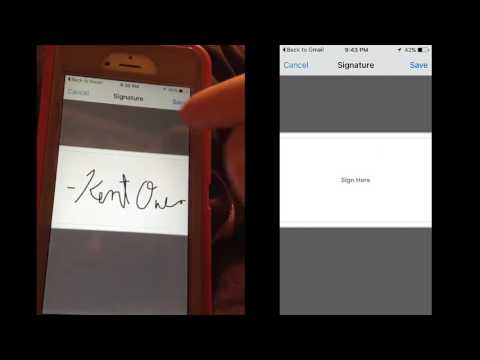 How To ESign On IPhone With Adobe Reader