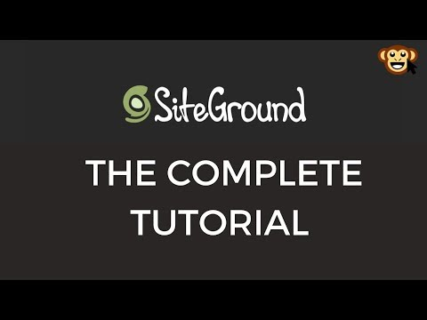 Siteground Web Hosting – The Complete Review &  C Panel Tutorial