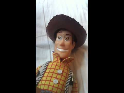 My new woody and buzz and my old woddy and buzz comparison