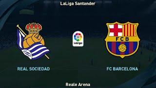 Real Sociedad Vs FC Barcelona - Full Match | LaLiga Santander Matchday 8