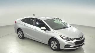 182211 - New, 2018, Chevrolet Cruze, LS, Silver, Test Drive, Review, For Sale -