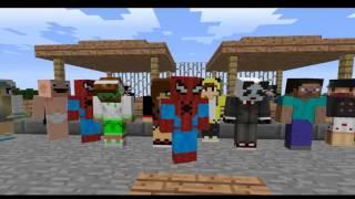 Тук-тук-тук Я человек паук. Клип Minecraft