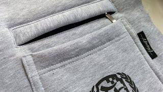 DIY  ✂ How to sew a zippered pocked  Sewing course  ✂ Jak uszyć kieszonkę na zamek