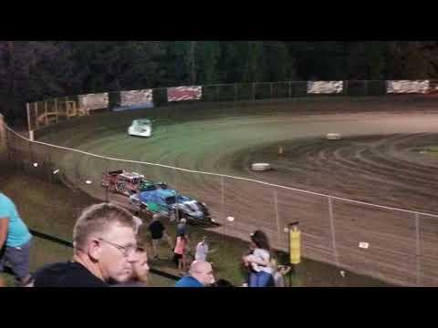 Tj Hughes #19Jr Late Model Heat Race Riverside International Speedway 09/28/19
