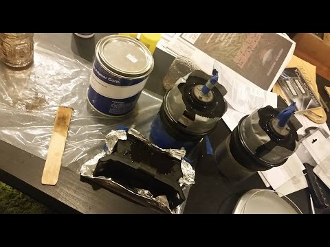 Polyurethane engine mounts diy the proper way youtube for How to make polyurethane motor mounts