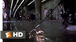 Black Rain (6/9) Movie CLIP - Motorcycle Decapitation (1989) HD