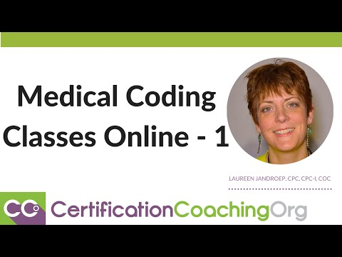 Medical Coding Certification Classes