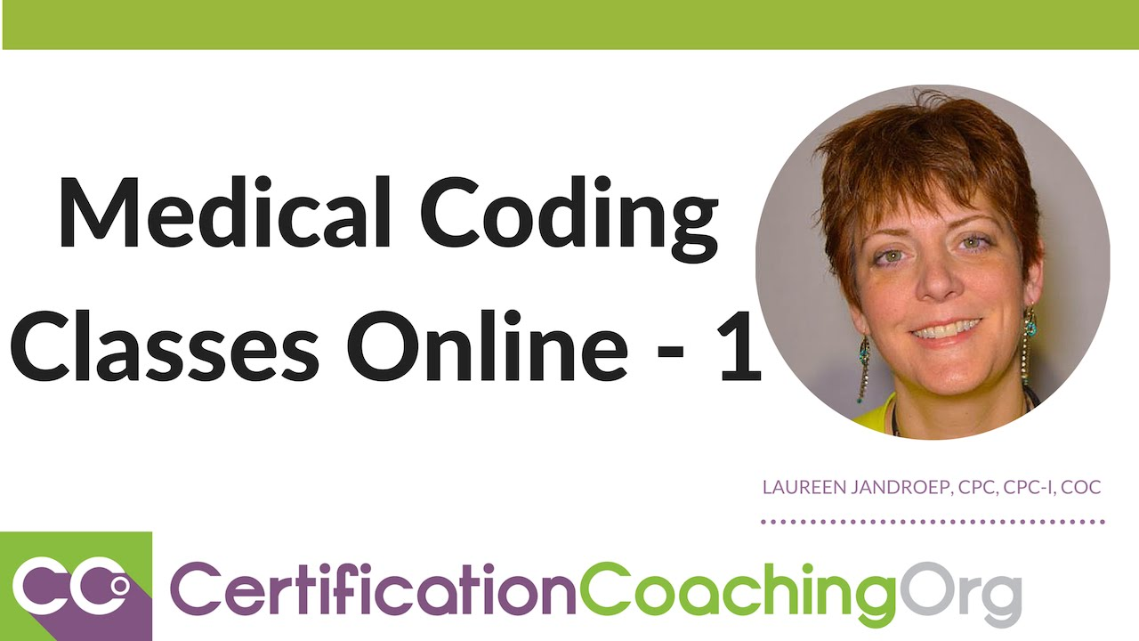Medical Coding Certification Classes Youtube