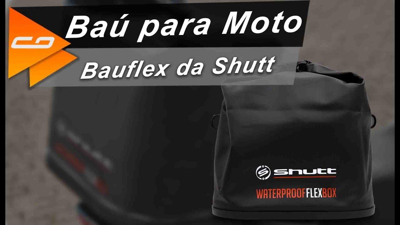 50fb35b0827 Baú para Moto Bauflex da Shutt: confira como usar o Bauleto ...