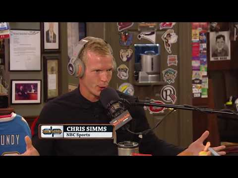 NBC Sports' Chris Simms In-Studio on The Dan Patrick Show | Full Interview | 8/17/17