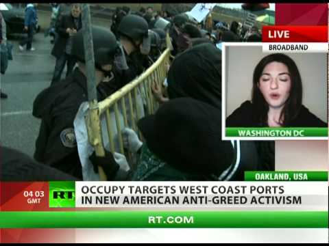 Occupational Hazard: OWS targets West Coast ports