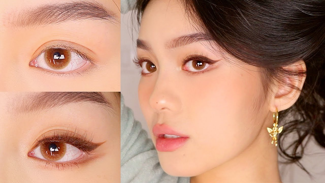 EYELIFT MAKEUP FOR DOWNTURNED EYES (HOODED ASIAN EYES) 💫 Jessica Vu