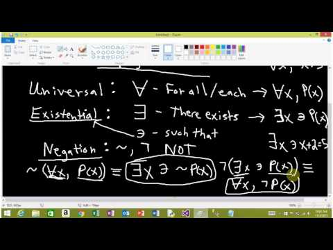 Quantifiers and Negations