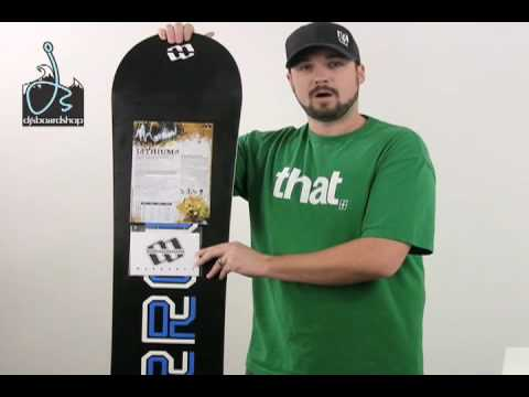 4e5181ad694 Morrow Lithium Snowboard Package  08 - YouTube