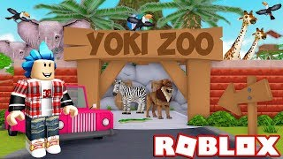 MY OWN ZOOLOGICO!!! ROBLOX ZOO TYCOON