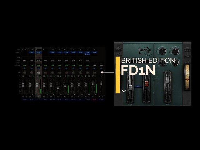 FD Bundle Tube EQ&Saturator - Babelson