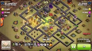Clash of Clans: rho vs omega