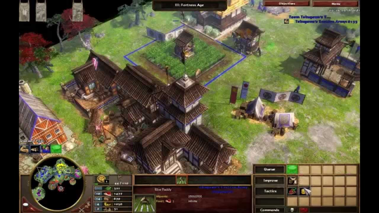Age of empires 3 asian dynasties cheat